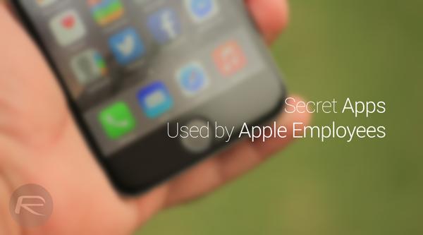 Secret Apple apps