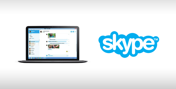Skype for Web main