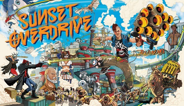 Sunset Overdrive main