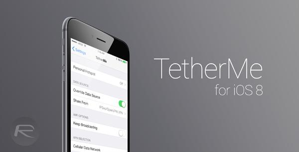 TetherMe iOS 8