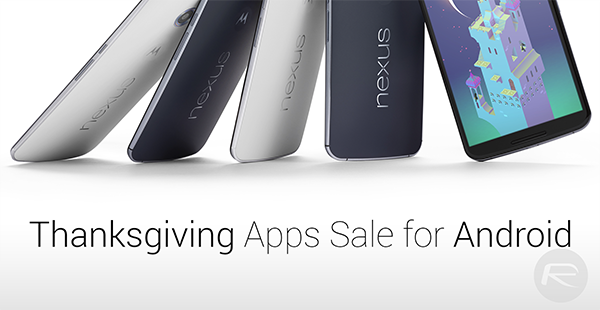 Thanksgiving apps sale Android