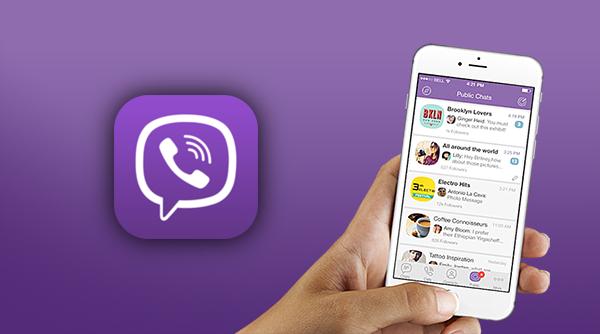 Viber public chats main
