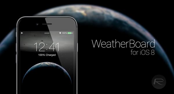 WeatherBoard main
