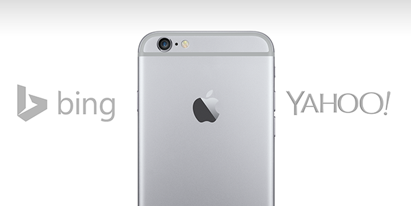 bing yahoo iOS