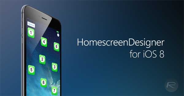 homescreendesigner ios 8