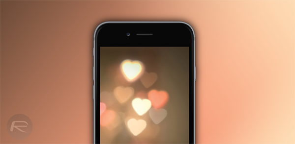 iPhone 6 hearts