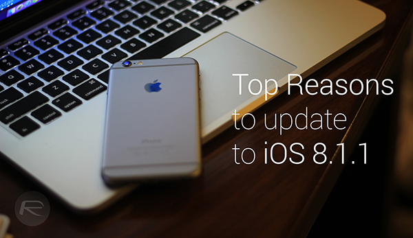 top reasons iOS 811 main