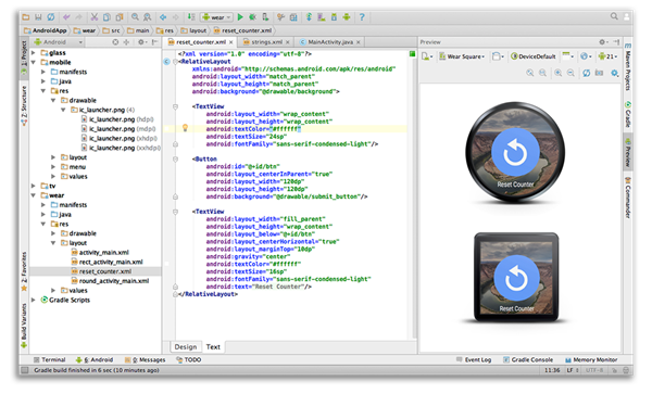 Android studio ide 10 for windows mac linux now available to devs can import google code or start afresh with the templates and once youre fully immersed in the coding part of app development android studio offers maxwellsz