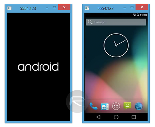 Android lollipop emulator