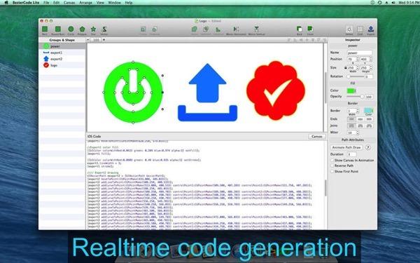 BezierCode Lite