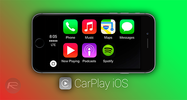 CarPlay iOS main