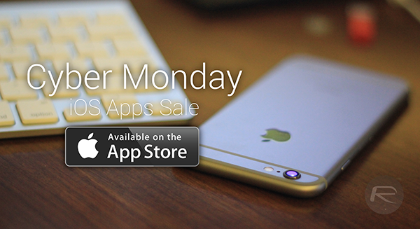 Cyber Monday iOS Apps Sale main