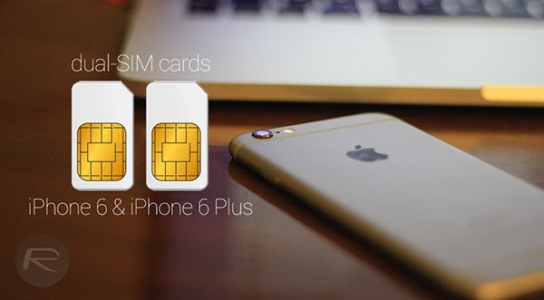 Dual SIM iPhone 6 6 Plus