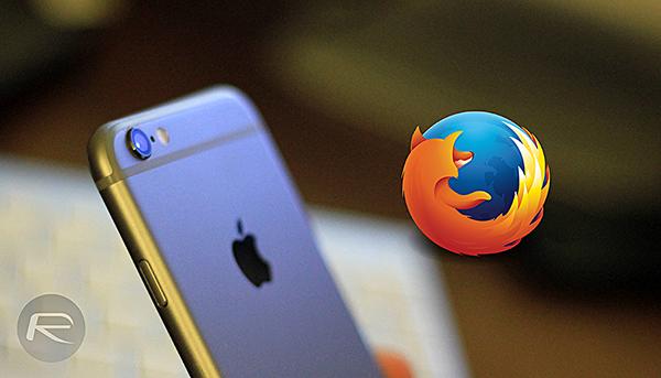 Firefox iOS main