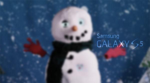 Galaxy S5 snowman main