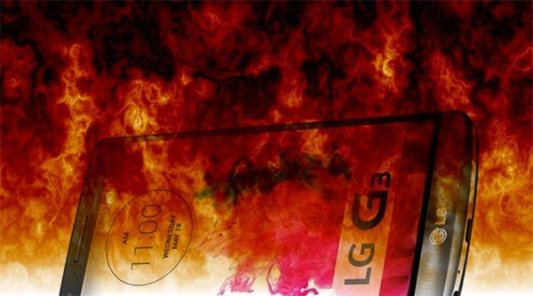 LG G3 fire