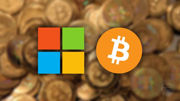 Microsoft Bitcoin main