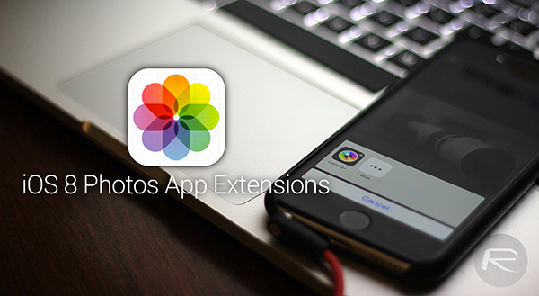 Photos App Extensions iOS 8 main