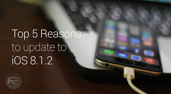 Top Reasons iOS 812 main