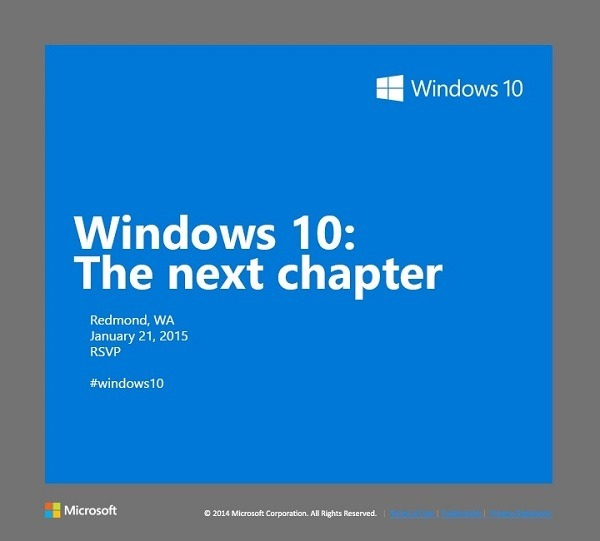 Windows 10 invite