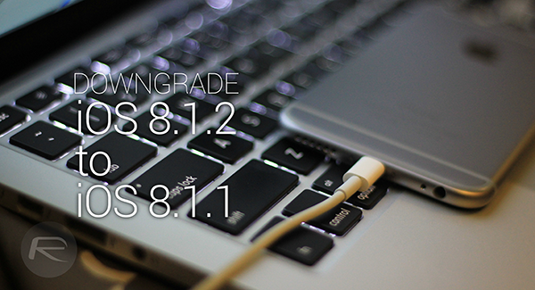 downgrade ios 812 to 811 main
