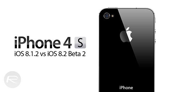 iOS 812 iOS 82 beta iPhone 4s