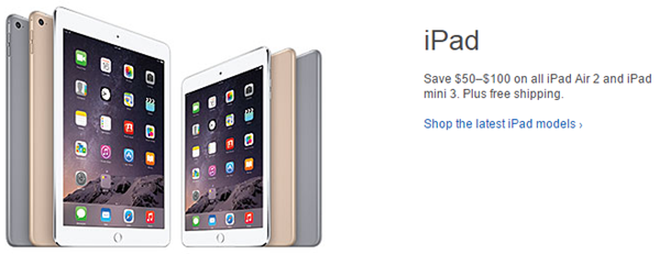 iPadsale