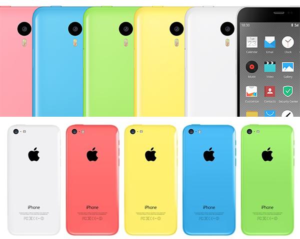 iPhone 5s Meizu
