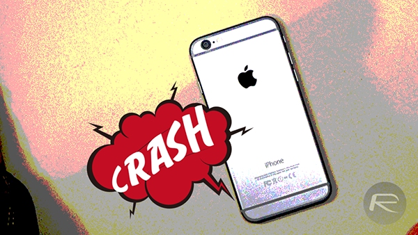 iPhone 6 crash main