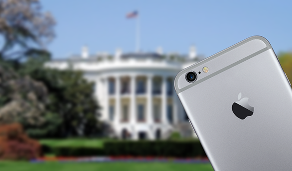 iPhone 6 white house