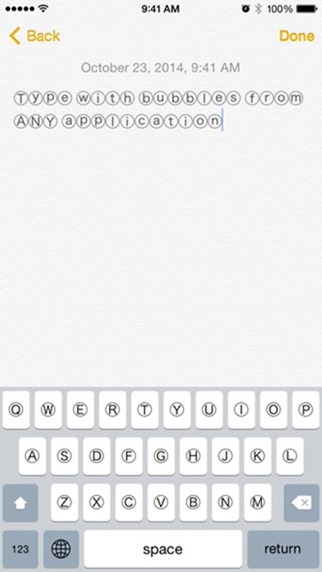 Bubble Text