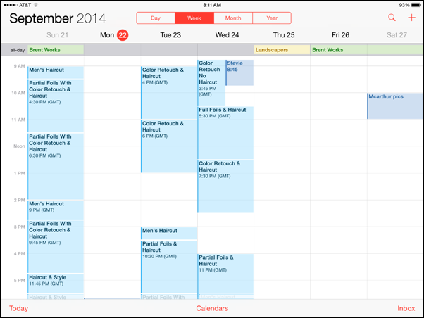 iOS 8 GMT Bug Causing Synced Calendar Entries To Show Wrong Time