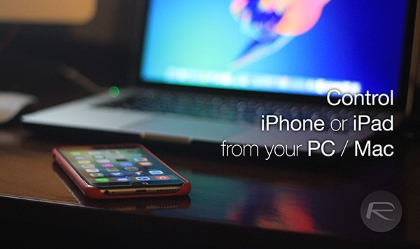 control iphone from mac how to remotely iphone from your pc mac 13865