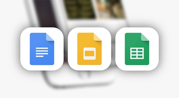Google Docs Sheets Slides main