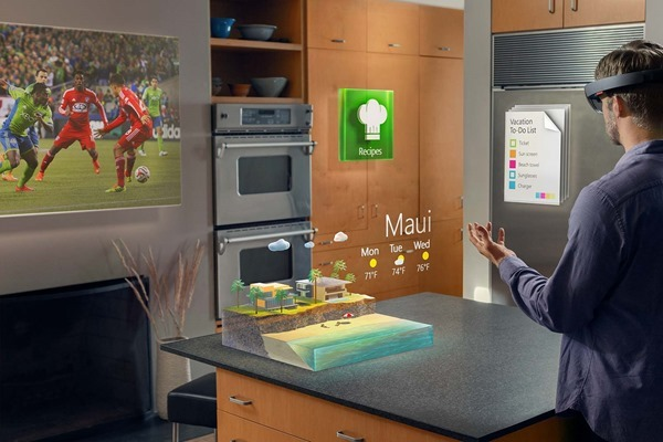 HoloLens interact
