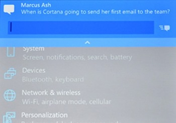 Inline notifications windows 10 phone