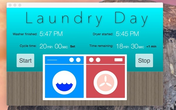 Laundry Day Timer