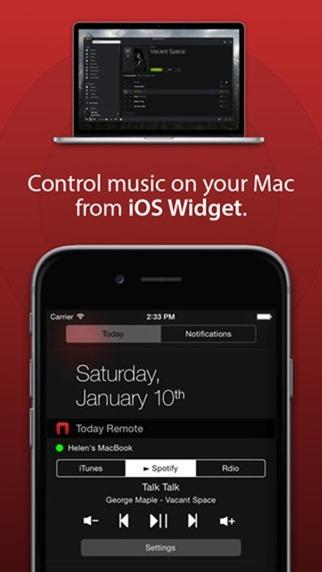 Spotify Widget Mac