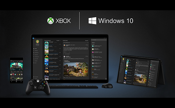 Xbox one cross windows