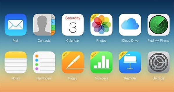 iCloud main