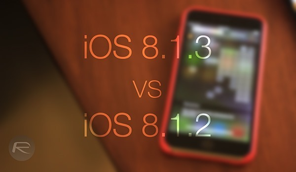 iOS 813 vs 812 main