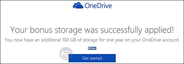 Dropbox OneDrive 100GB - Step 7