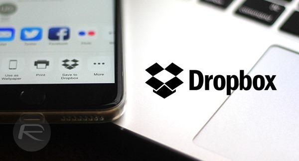 Dropbox main