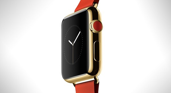 Gold Apple Watch main