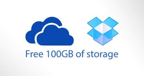 OneDrive Dropbox free main