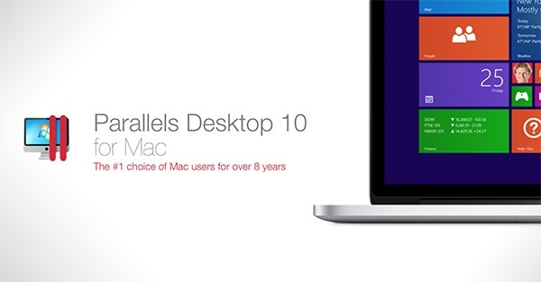 Parallels Desktop 10 Mac main