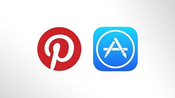 Pinterest App Store main