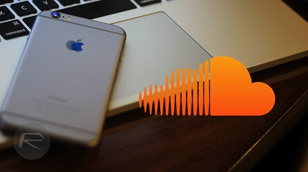 SoundCloud iPhone main
