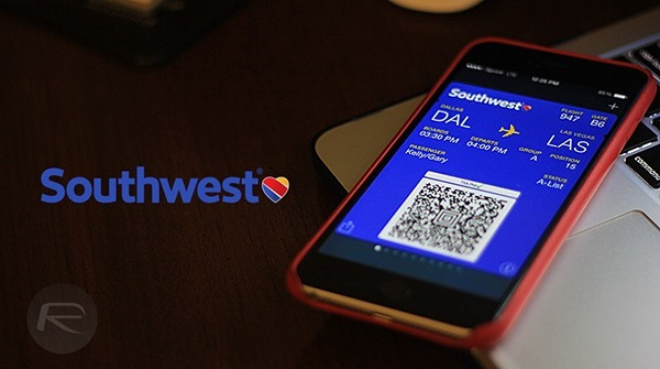 Southwest passbook main