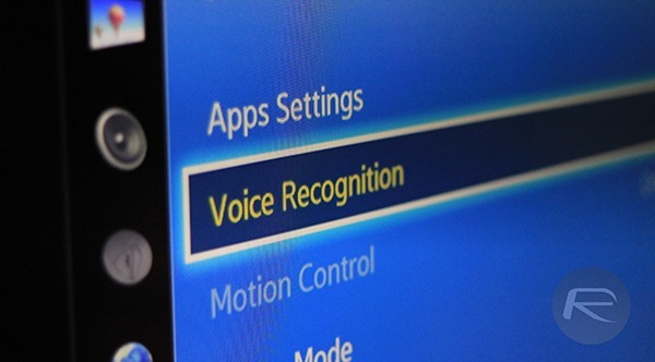 Voice Recognition Smart TV